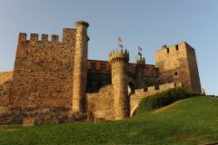 Castillo templario. Pnferrada