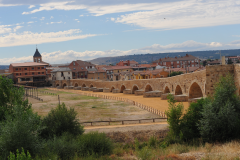 """Vista del puente del """"El Paso Honroso"""""""